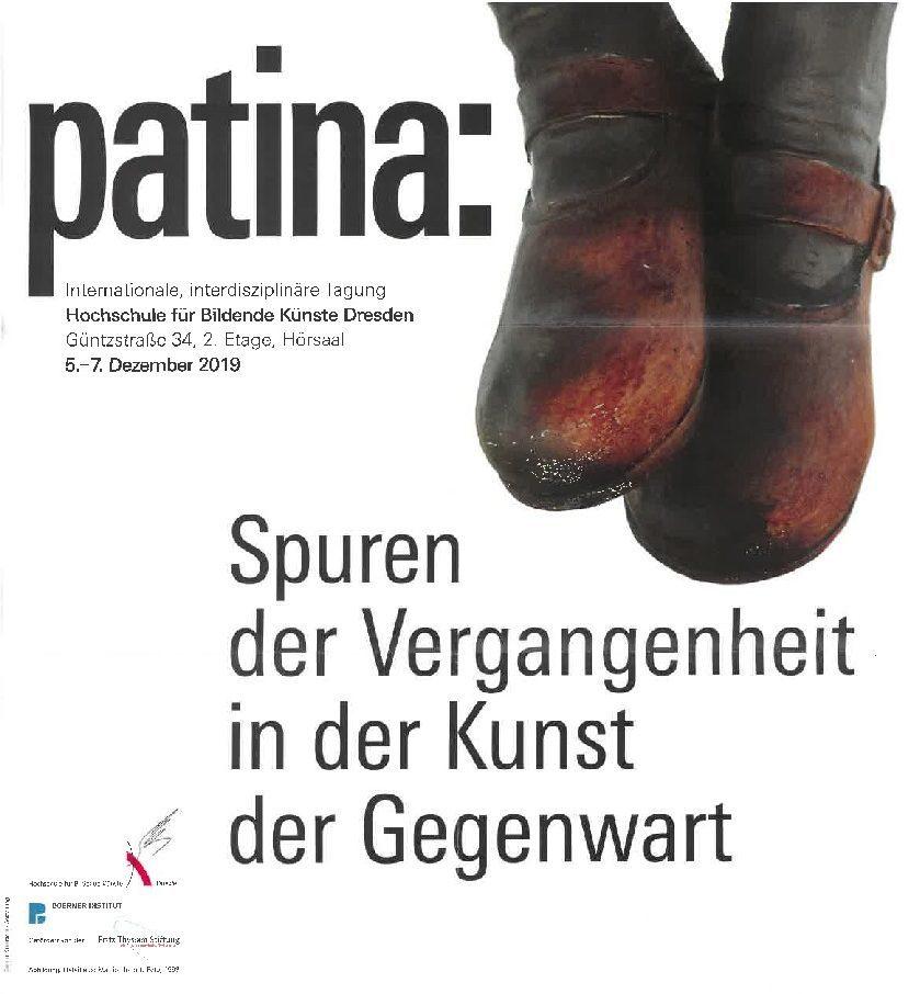 20191205 Patina PLAKAT