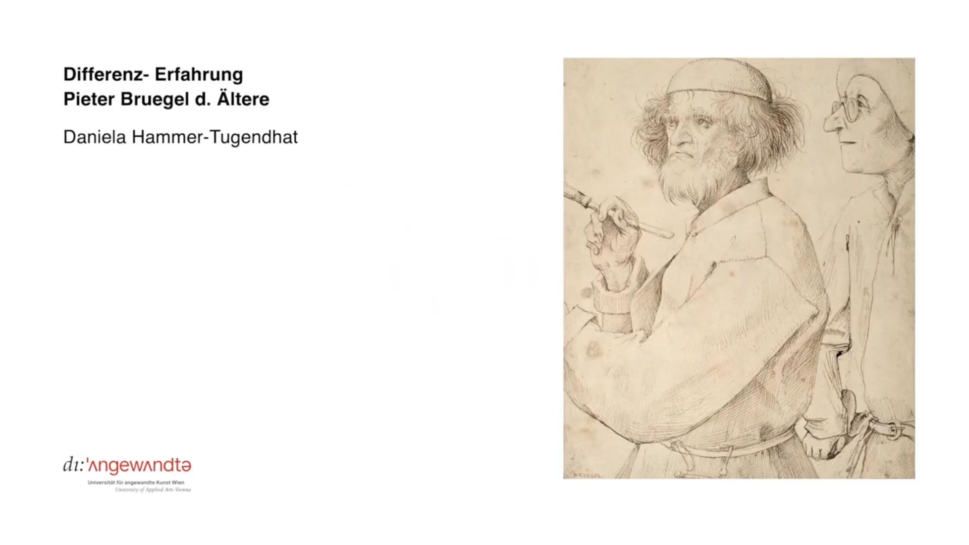 Daniela Hammer Tugendhat VO Pieter Bruegel d Ältere