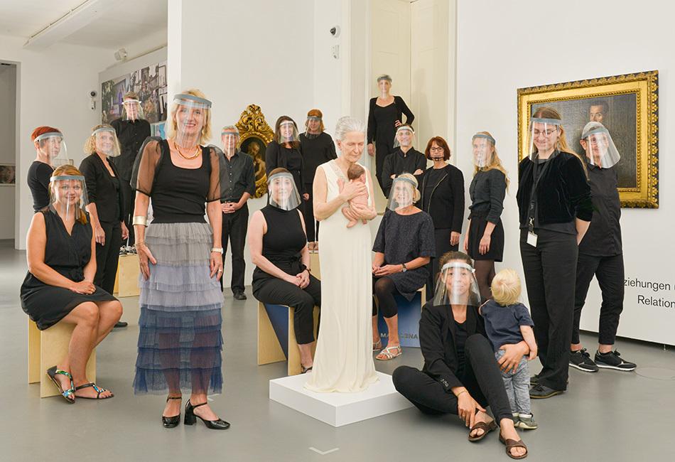 Das Team des Dom Museum Wien Foto Katharina Mayer