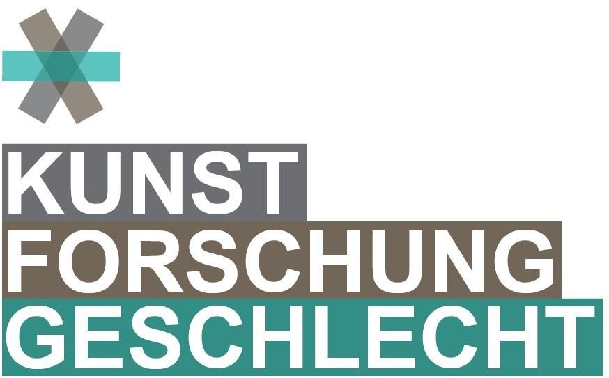 Kunst Forschung Geschlecht Logo