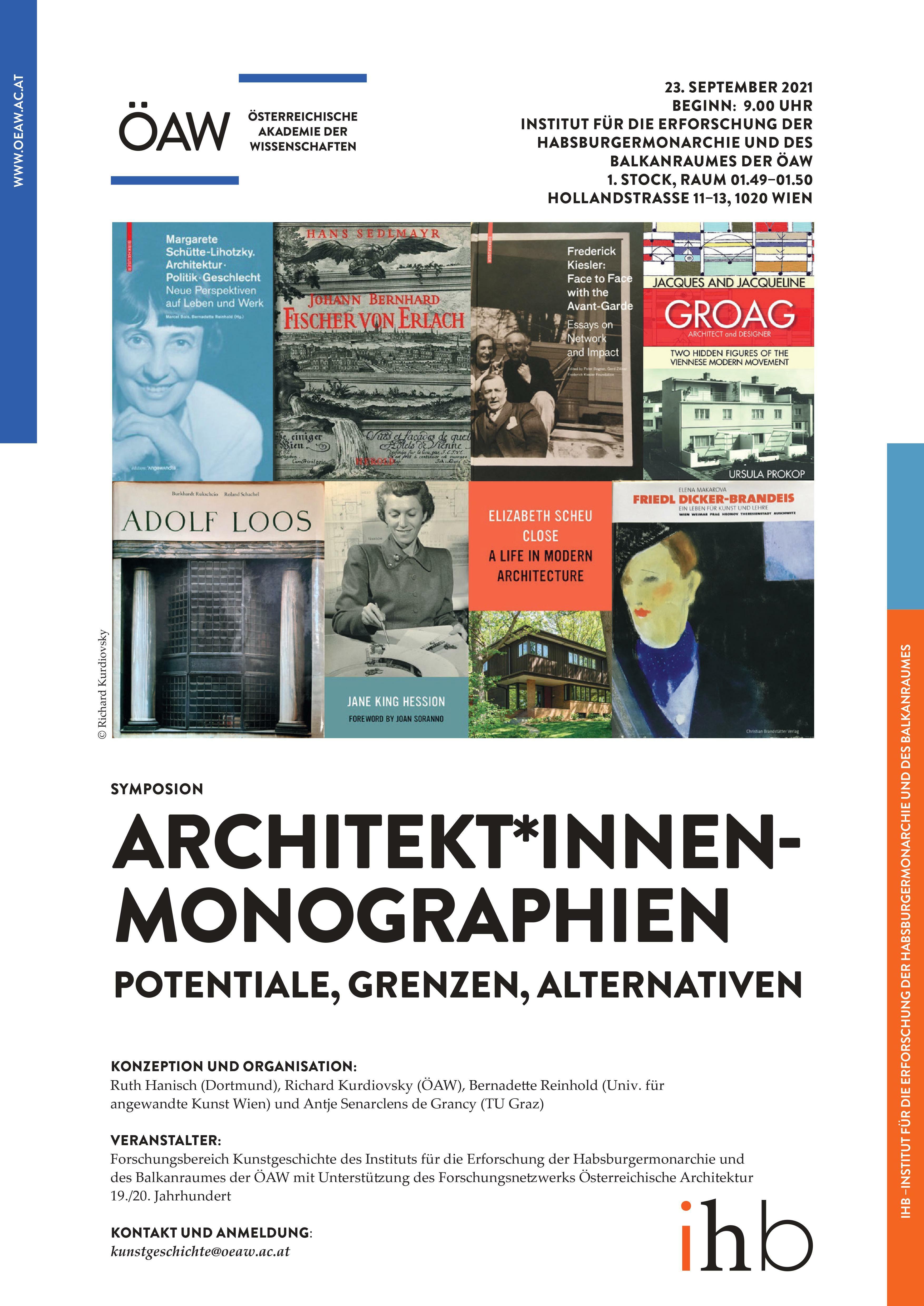Architekt*innen Monographien