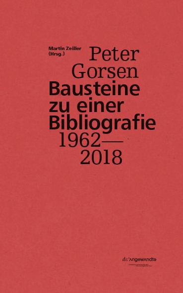 Bibliografie Gorsen