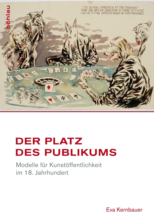 Buchcover Eva Kernbauer Der Platz Des Publikums