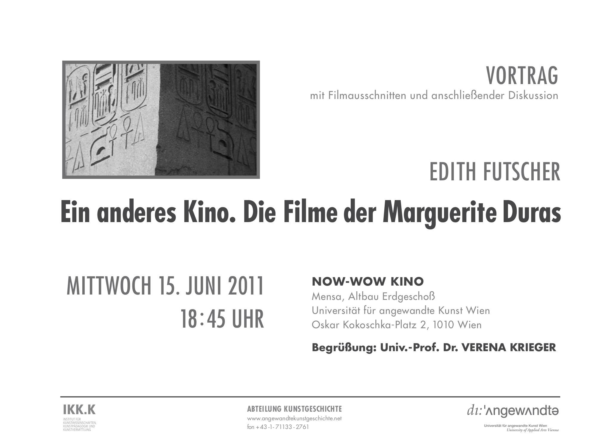 Duras Futscher Plakat 110615 Web